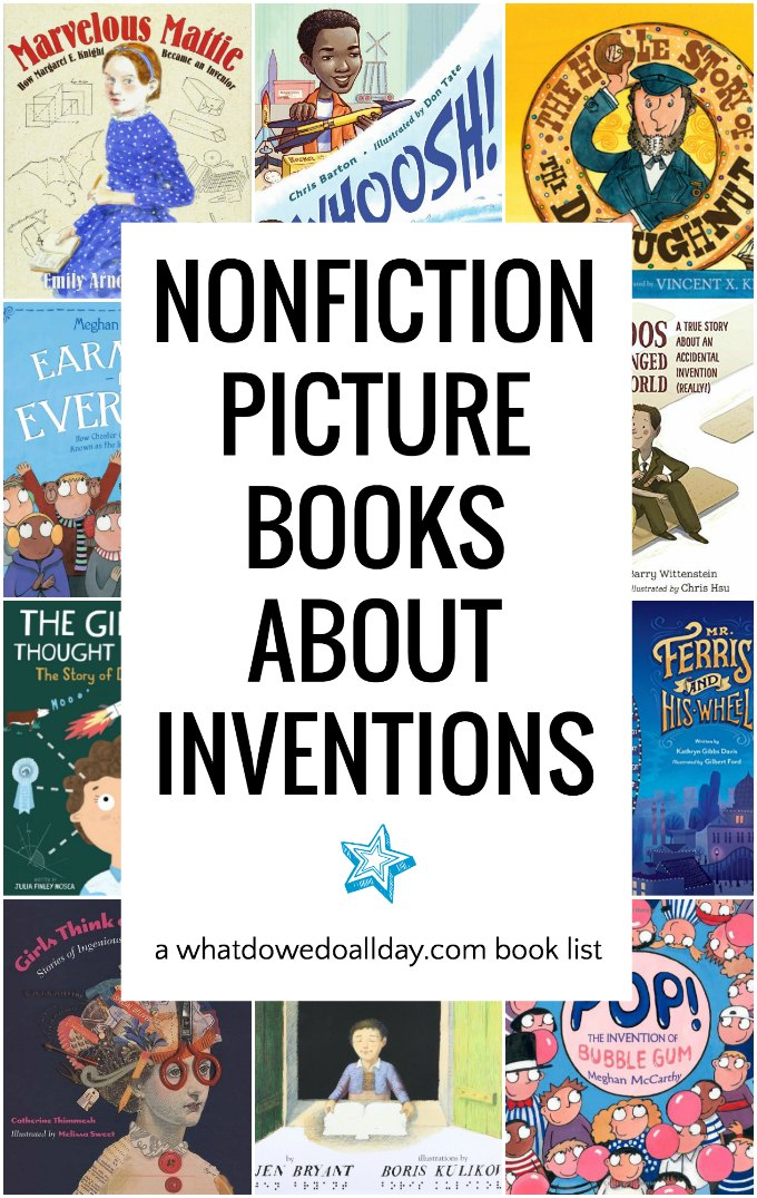 Nonfiction books for kids about inventions