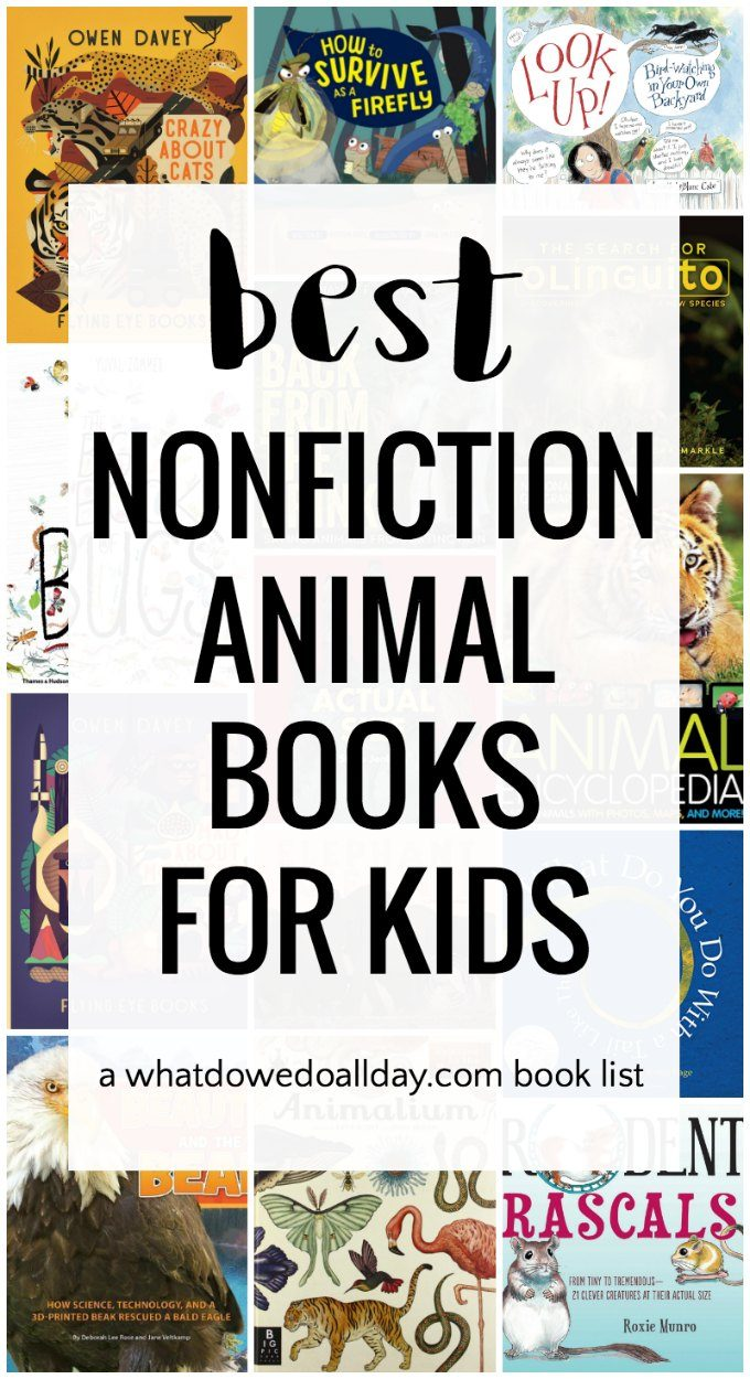 Nonfiction Books about animals for kids