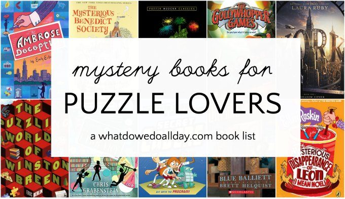 Puzzle mysteries for kids.