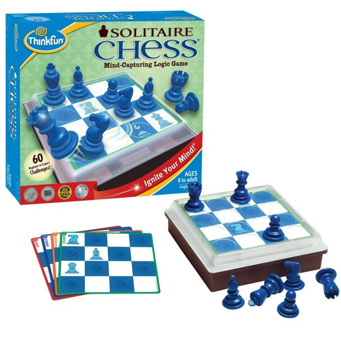 Solitaire Chess from ThinkFun