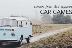 Screen-Free Travel: Road Trip Games for Kids