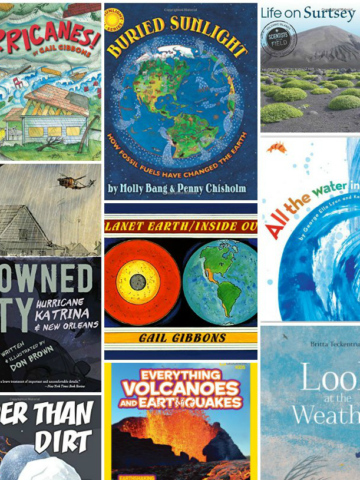 Amazing books about earth science for kids