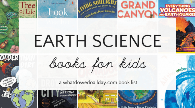 Nonfiction Earth science books for kids