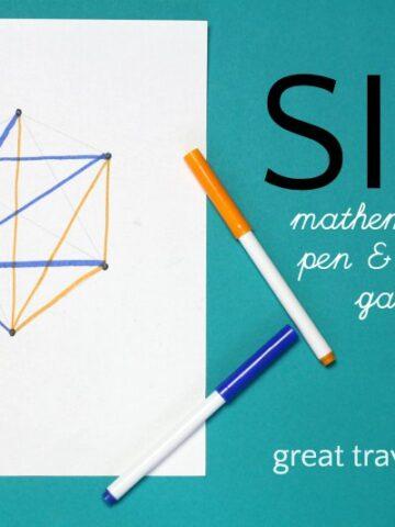 Sim pencil game using mathematical principles.