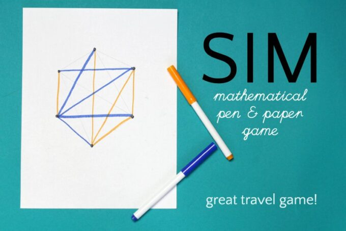 Sim pencil game using mathematical principles.