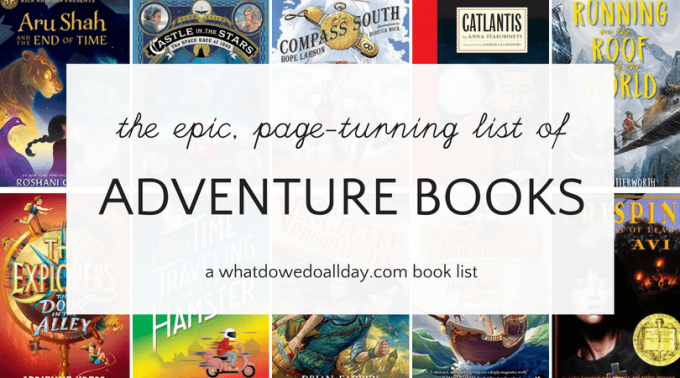 The best adventure books for kids