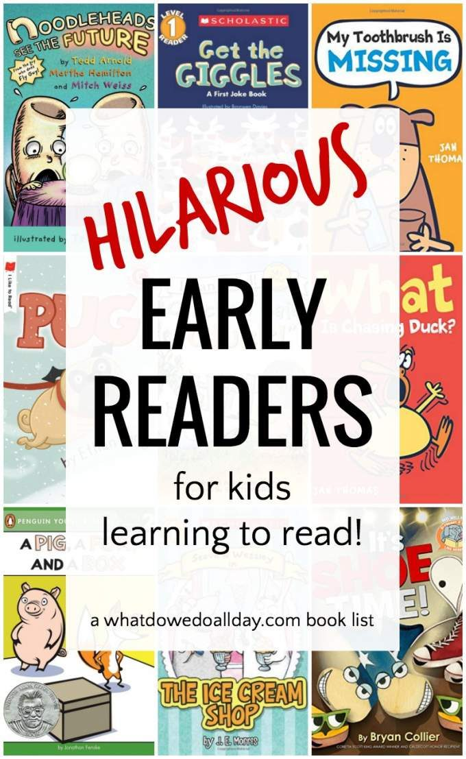 Very funny early readers for kids learning how to read