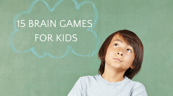 Brain games for kids that make them think!