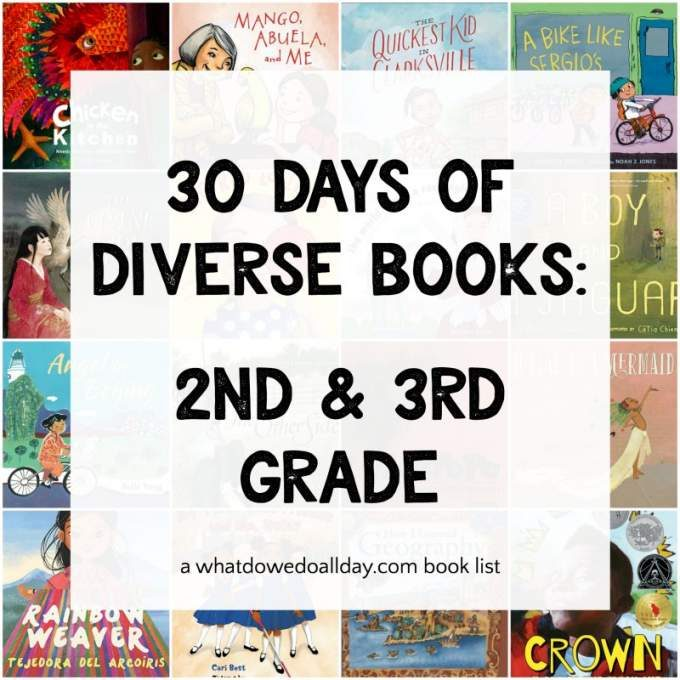 Diverse books for 7-9 year olds