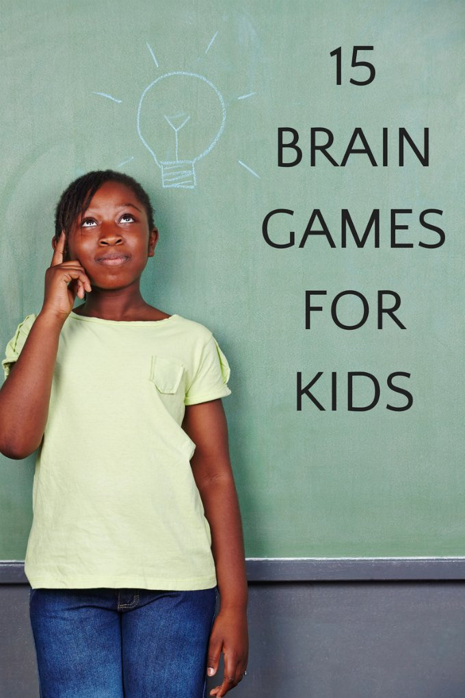 The best brain games for kids that can be played anytime, anywhere. Screen-free activity ideas that grow kids' brains. 3 categories of brain teasers, puzzles and game for one or more players.