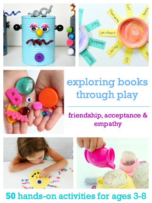 Teaching kindness and empathy with books and play