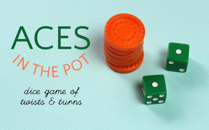 How to play Aces in the pot dice game for 3 or more players