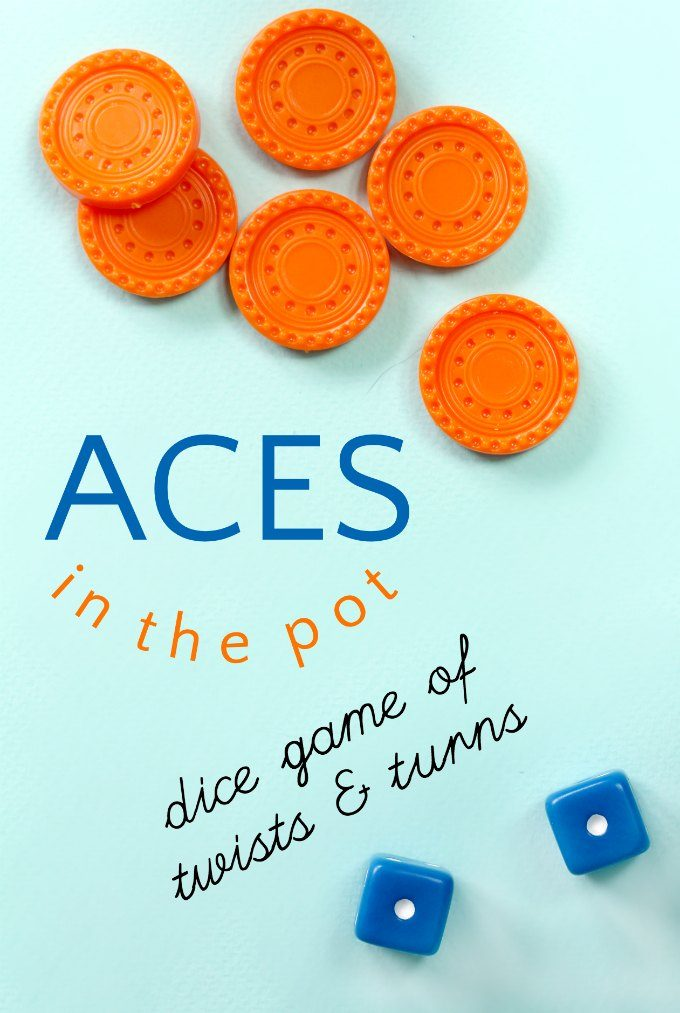 How to play aces in the pot dice game