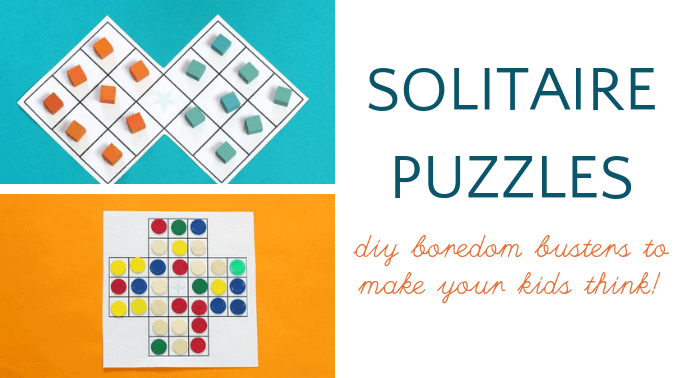 2 solitaire puzzles to make kids smarter