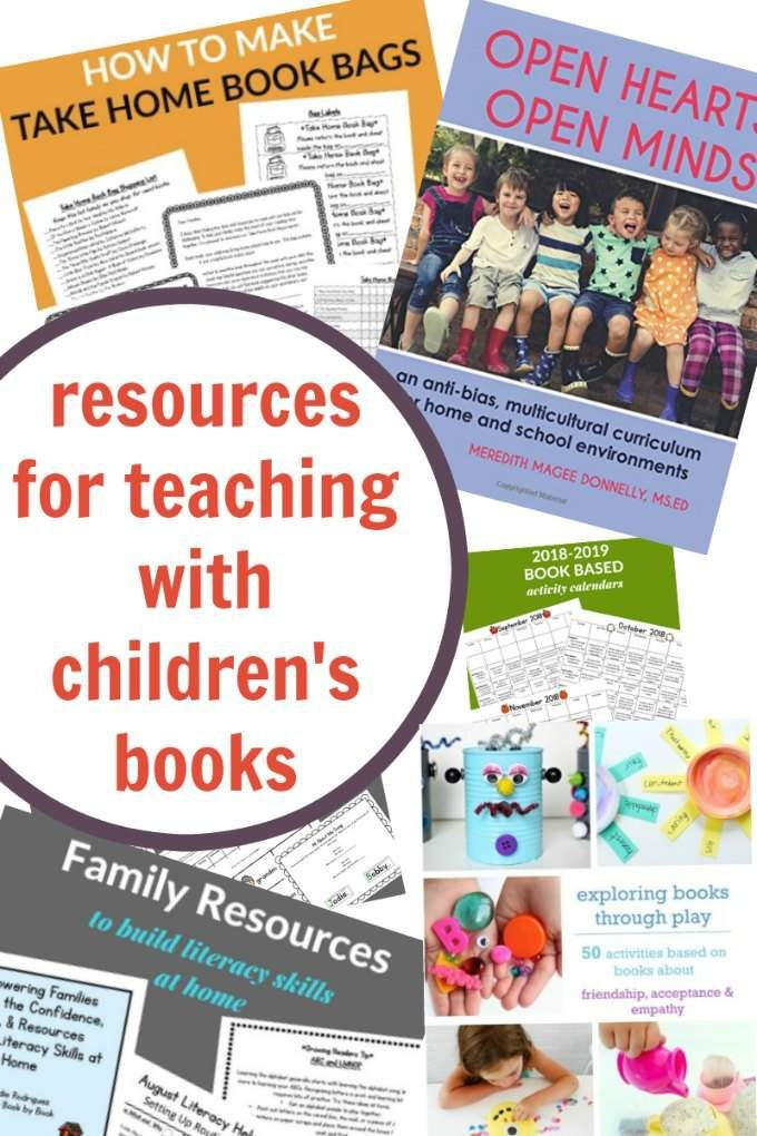 Resources for teaching with children's books