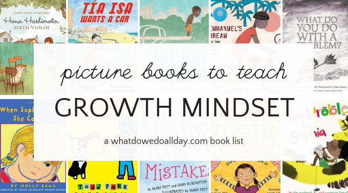 Growth mindset books for kids to help them face life's challenges