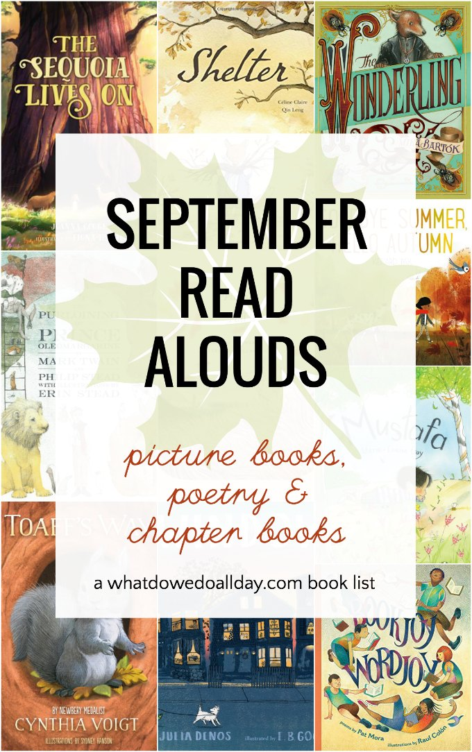 September read aloud books for classrooms and families