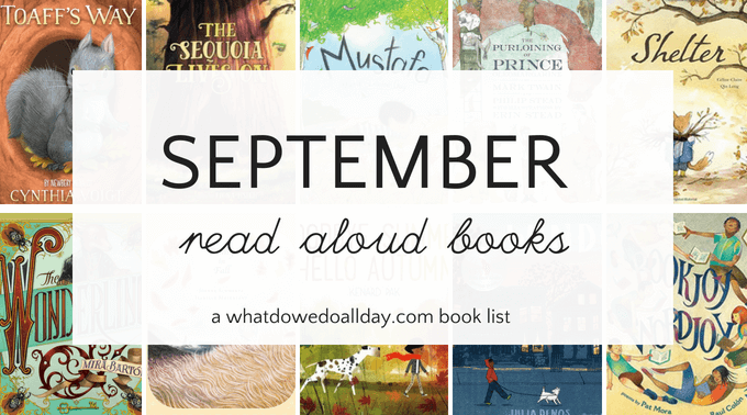 September read aloud books for