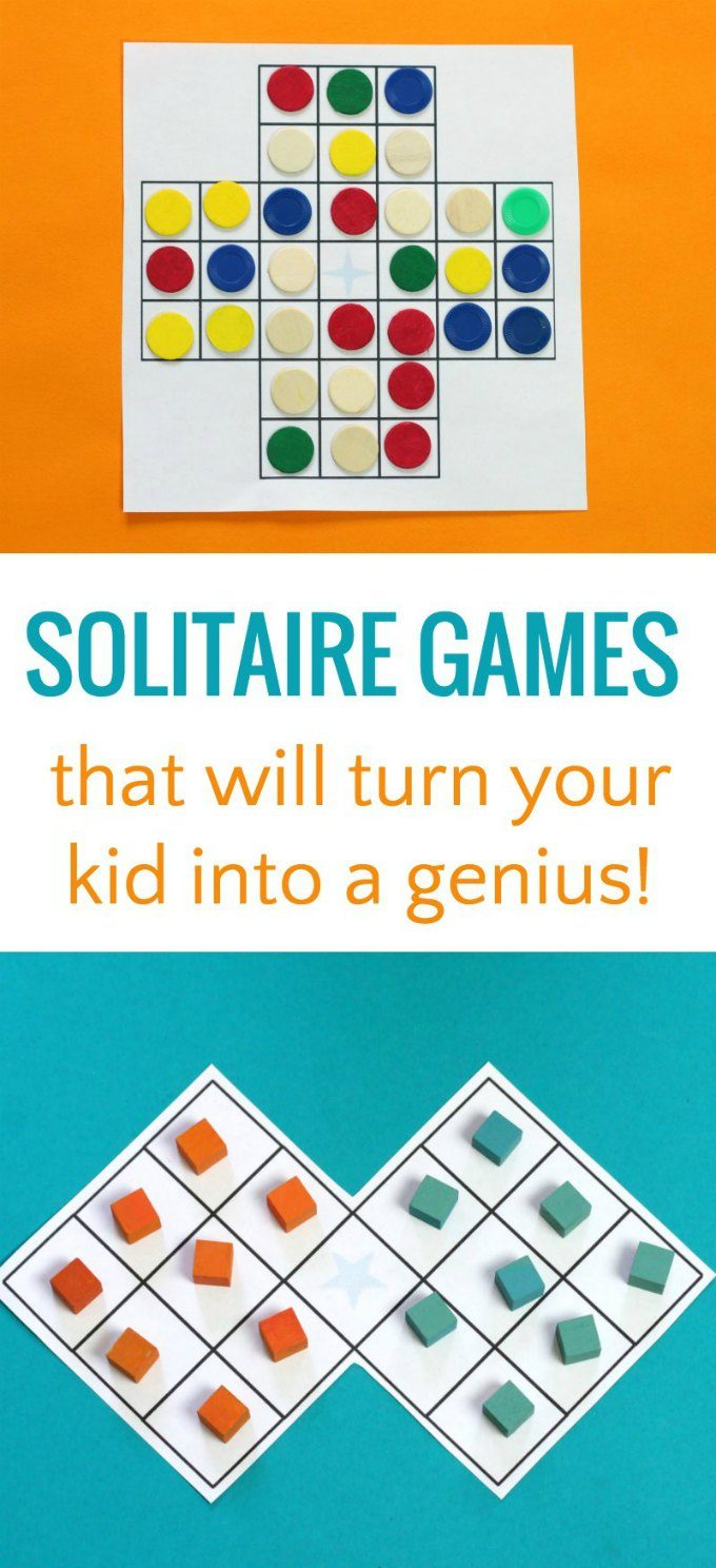 Solitaire puzzle variations