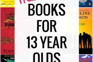 Diverse List of Books for 13 Year Olds