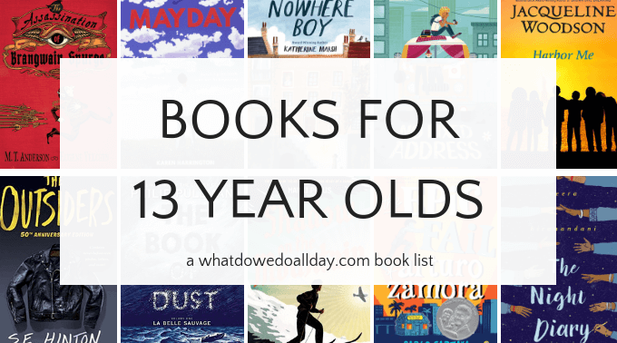 Good books for 13 year olds