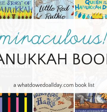 Hanukkah picture books for children