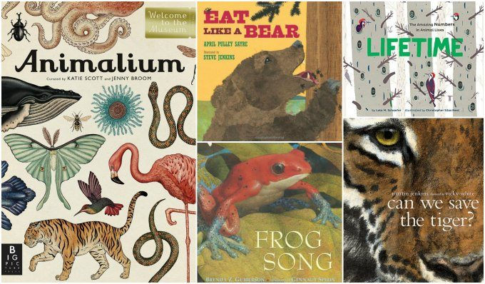 Animal science books for children