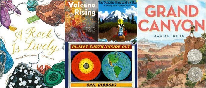 Children's earth science picture books