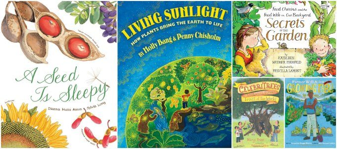 Picture books about plant science for kids