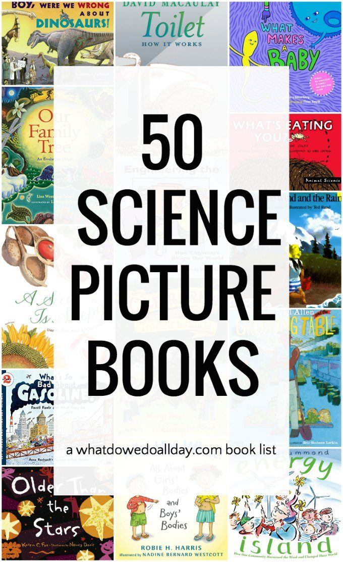 Fascinating science books for kids