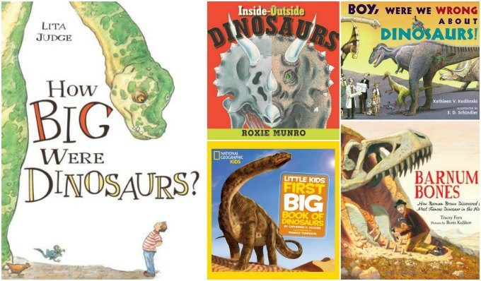 Science books about dinosaurs
