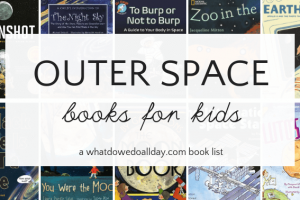 Space Books for Kids that Will Turn Them into Astronauts
