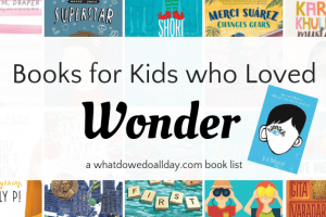 Books for kids who like Wonder