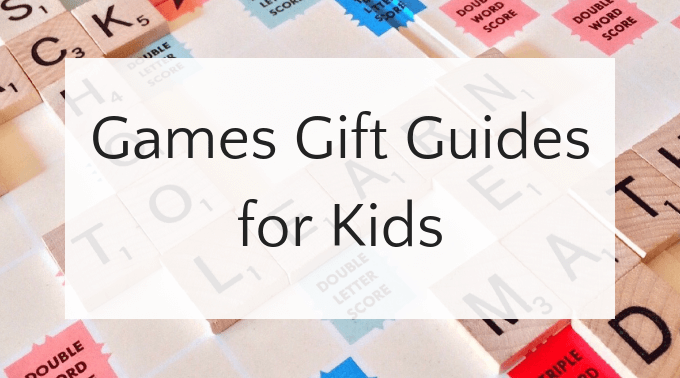 List of games gift guides for all ages and interests