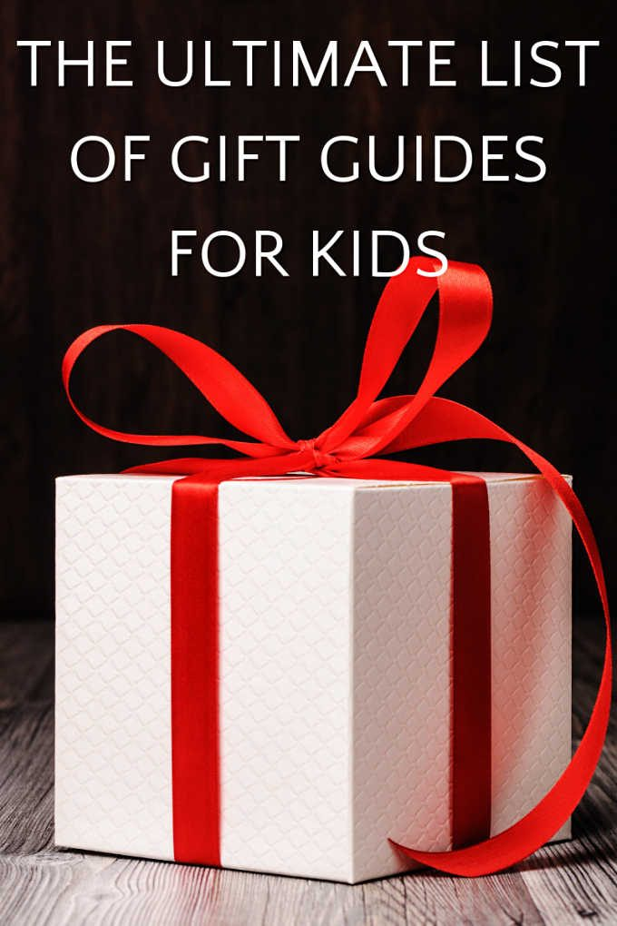 Ultimate list of gift guides for kids