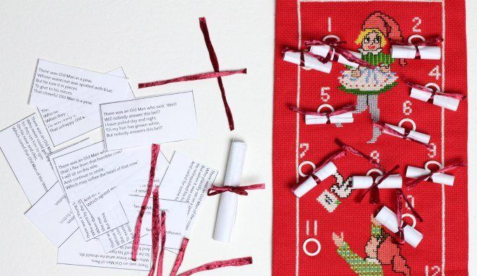 Best advent calendar for kids uses poetry