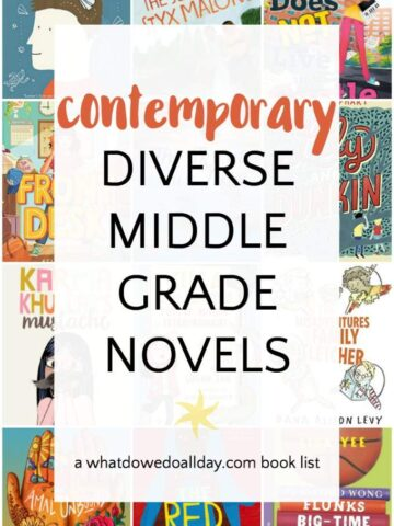 Diverse middle grade realistic fiction books