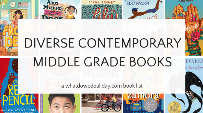 List of diverse contemporary middle grade fiction