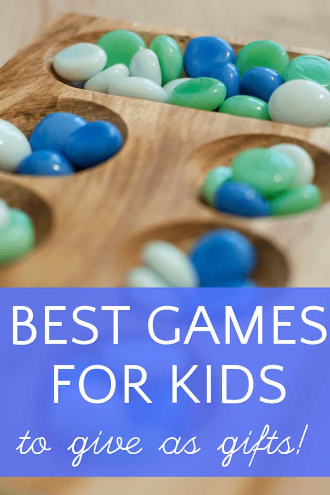 Games gift guide for kids and families
