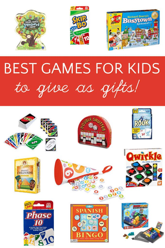 The best kids games to give as gifts