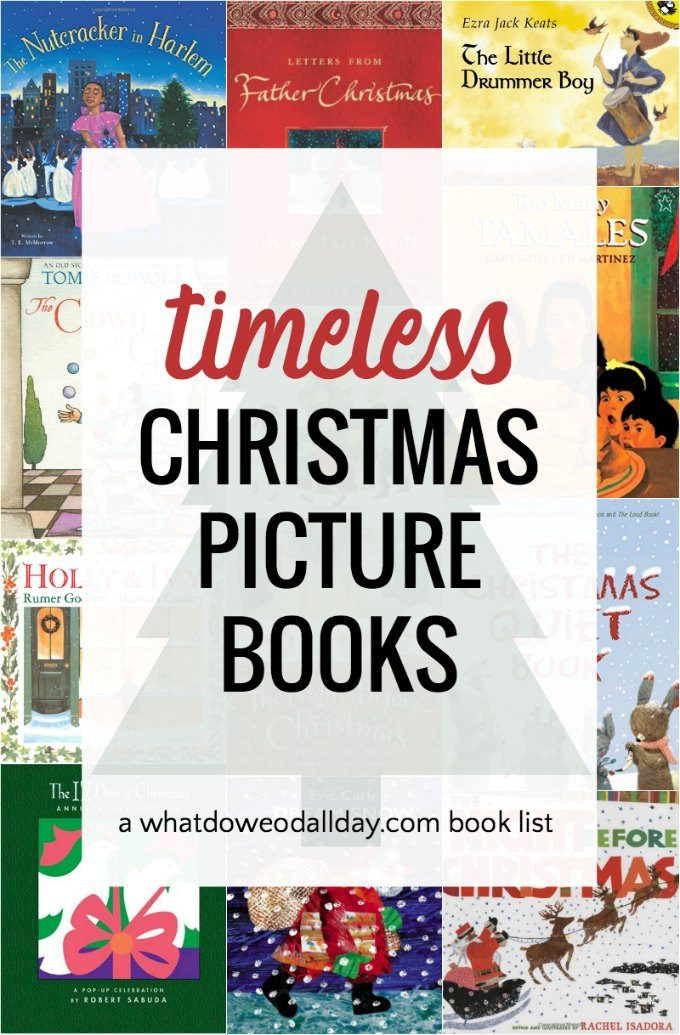 Timeless classic children's Christmas picture books.