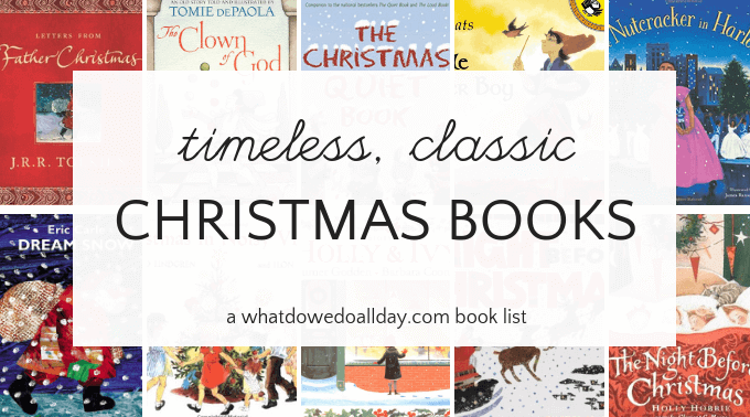 Christmas picture books for children