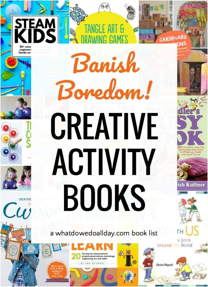 List of activity books for kids