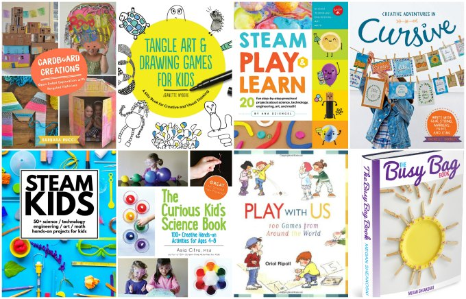 Creative activity books for kids to banish the boredom.