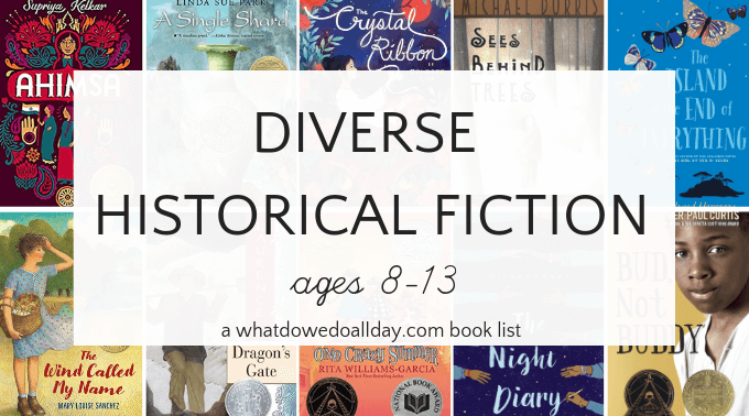 Diverse historical fiction for middle grade readers