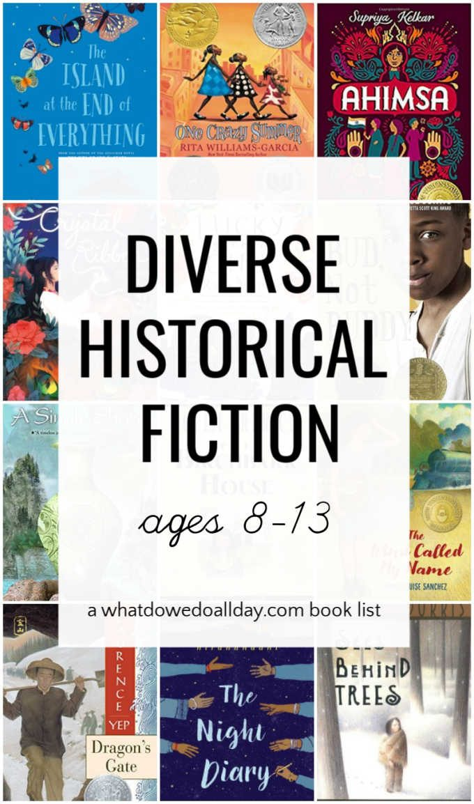 Diverse historical fiction for middle school