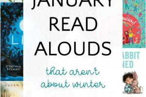 Best children's books to read aloud in January