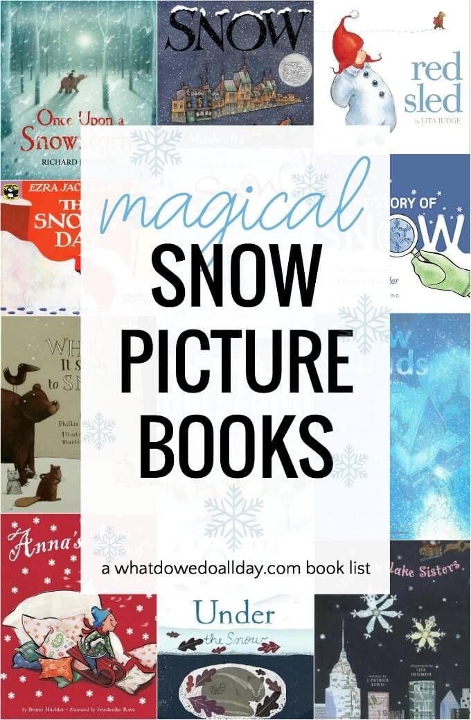 Snow picture books for kids
