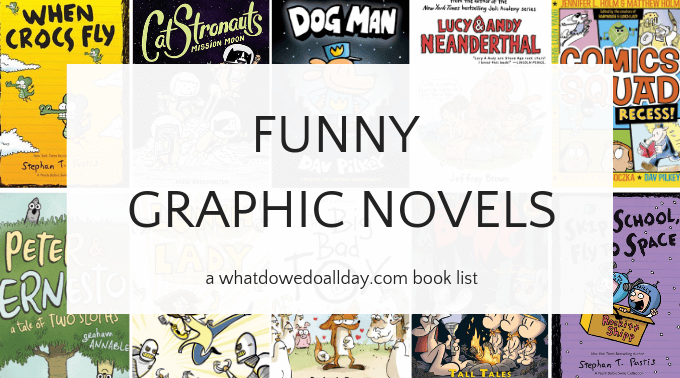 Funny graphic novel series for kids