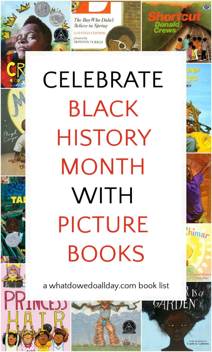 List of picture books by black authors